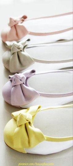 ~Pastel Ballet Flats | The House of Beccaria