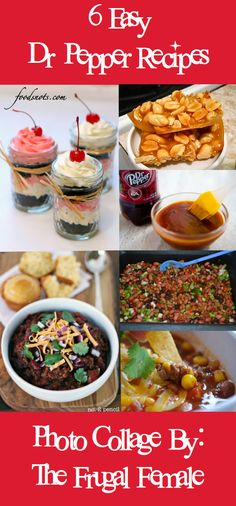 6 Easy Dr. Pepper Recipes