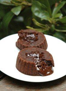 #recette de #Fondant au #chocolat au micro-ondes
