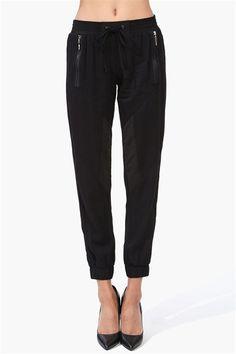 Harem Pants in Black