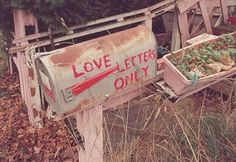 *Love letters only