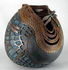 art inspir, pines, artists, gourd art, craft, richi gourd, gourds, judi richi, sculptur