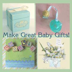 homemade baby gift ideas
