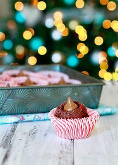 Cherry Cordial Christmas Cookies