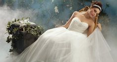 I am in love with Alfred Angelo and his Disney Fairy Tale Wedding Dresses