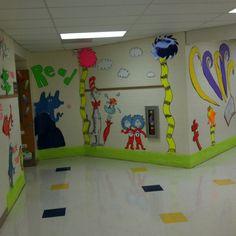 Dr. Seuss decor