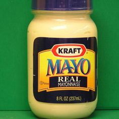 Did you know? That Mayonnaise will kill head lice and will also condition your hair.