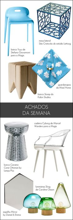 white and blue design finds
