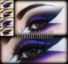#Gothic makeup
