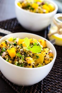 Cashew, Orange & Mango Quinoa Salad