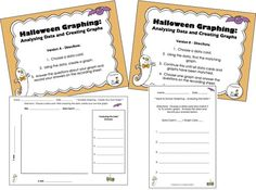 Halloween Graphing Pack GIVEAWAY on Teachers Notebook (runs from 10-4-13 to 10-6-13; one winner will be chosen)