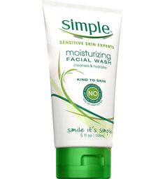 Simple Moisturizing Facial Wash: Pure skin loving ingredients   Pin from lbx.la/rnrf for your chance to win $5,000 to spend at #Target #revitalizemorning #sweepstakes No purchase necessary. Open to 50 US & DC, 18+. Ends 1/25/14. For rules, click here