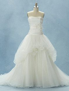 Alfred Angelo  Snow White inspired wedding dress