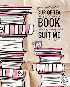 book & tea