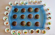 Cup cake decorating birthday party - simple fun that kids love! Includes a recipe for egg-free cupcakes.