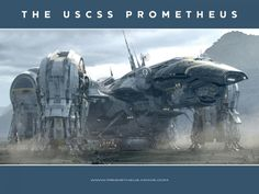 Prometheus space ship