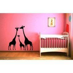 Cute Giraffe Wall Designs