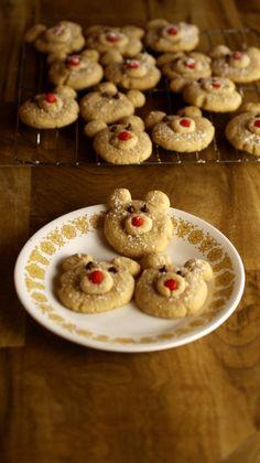 Cinnamon Polar Bear Cookies Recipe