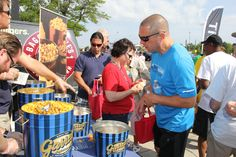 Detroit was excited to stop by for some #GarrettPopcorn!