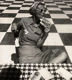 LOUISE DAHL-WOLFE (1895-1989)  Mary Sykes in Puerto Rico, 1938