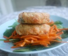 Salmon Fishcakes with an Asian Flair (paleo, GF)