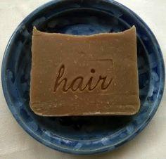 Lavender Vanilla shampoo bar by Aquarian Bath made by AquarianBath