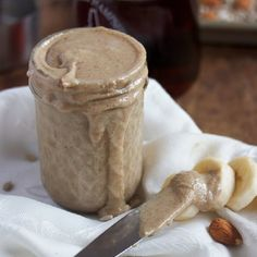 Vanilla Maple Almond Sunbutter. #food #spreads #butters