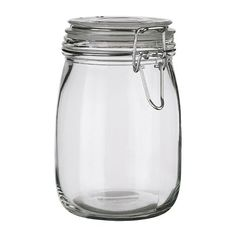 SLOM Jar with lid - 34 oz - IKEA