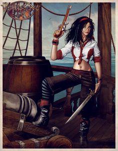 A Pirate's Life For Me by Vampirneko.deviantart.com