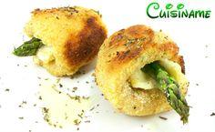Pechugas de Pollo rellenas de queso brie y espárragos. Recetas de Cocina - Recetas Originales.