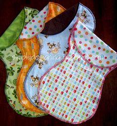 sew project, baby burp cloths diy, babi babi, diy baby burp cloths, burp clothes diy