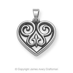 French Heart Charm from James Avery