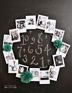New Year Instagram Wreath