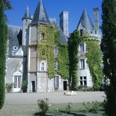Château des Sept Tours, Courcelles-de-Touraine, Centre