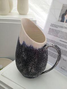 ceramic pitcher at #Toronto Outdoor #Art Exhibit via http://lifeovereasy.com/ #ceramics