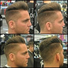 Galerry mens hairstyle uppercut
