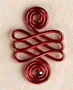 Step 15 to Double Spirals Jewelry Wire & Beads Bracelet Jewelry Making Project