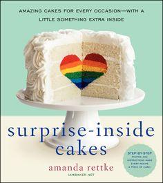 How to Make This Amazing Rainbow Heart Cake