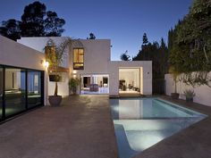 "Modern Beverly Hills House  © courtesy of ""The Agency""  Click the picture for more!"