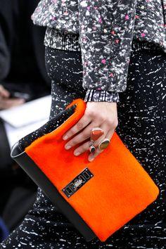 handbags fall winter 2014/2015, fashion weeks, detail, runway fashion, orang, schouler fall, fall 2014, proenza schouler, 2014 readytowear