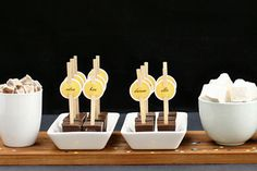 Hot chocolate bar how to and free printables.  Polar express party