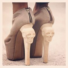 sick amaz shoe, skulls, fashion, skull heel, 3d print, style, accessori, heels, printedshoesjpg 320321