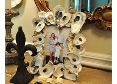oyster shell frame