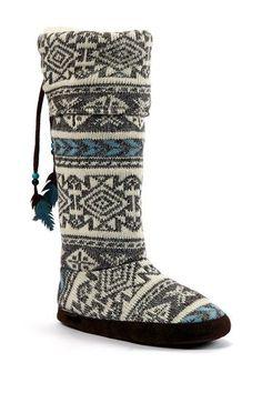 Winona Tall Boot Slipper