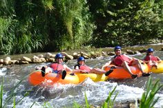 River Tubing in Jamaica 2/2013