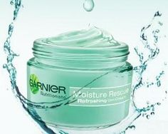 garnier moisture rescue refreshing gel-cream..i can't express how amazing this is. it feels so good on your skin..and it's good for your skin too! XD