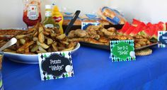 Golf Party Food