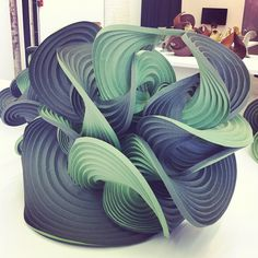 Demaine's computational origami, repinned by Heather Medes