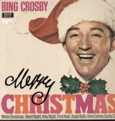 Vintage Christmas Record Album ~ Merry Christmas ~ Bing Crosby