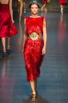 Statement Belt -- Dolce & Gabbana Spring 2014